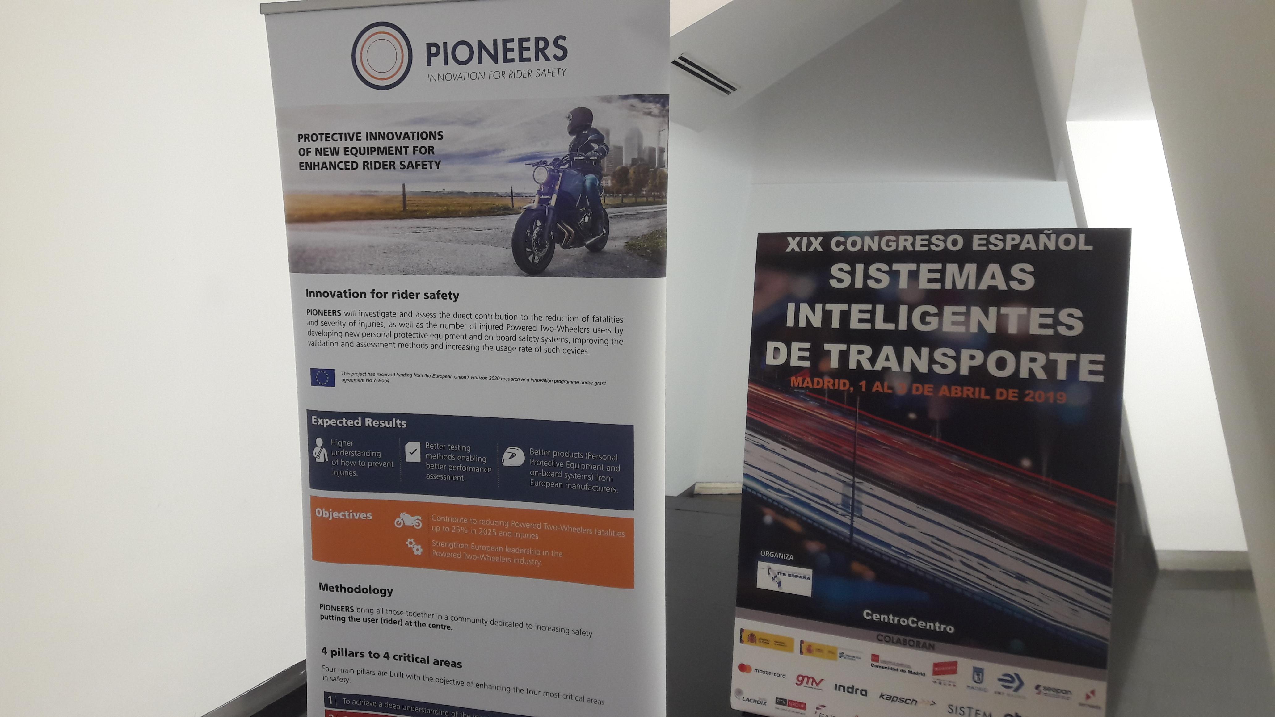 PIONEERS presentation in ITS Spain - Pioneers