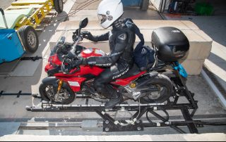 Ducati with lateral airbags ready to PIONEERS test